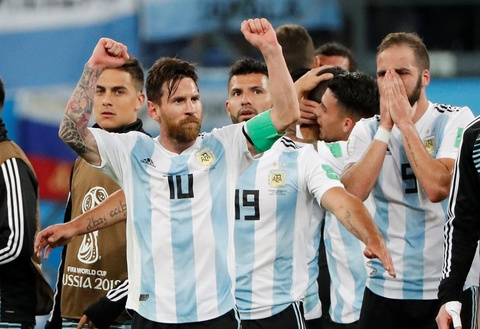Messi da toa sang nhung tiec cho mot Argentina mat ban sac hinh anh