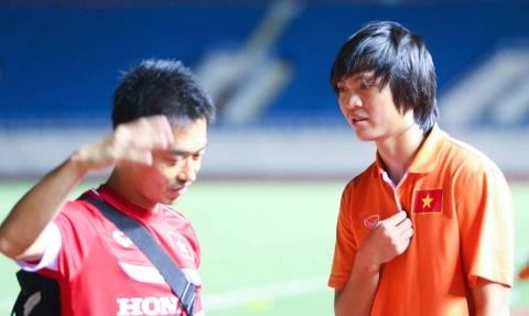 Tuan Anh xin chia tay U23 Viet Nam vi chan thuong hinh anh