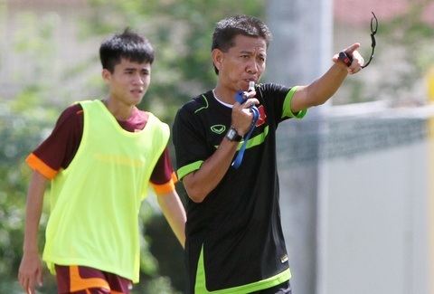 Thanh Hau, Quang Hai - tru cot cua U19 VN o giai Dong Nam A hinh anh