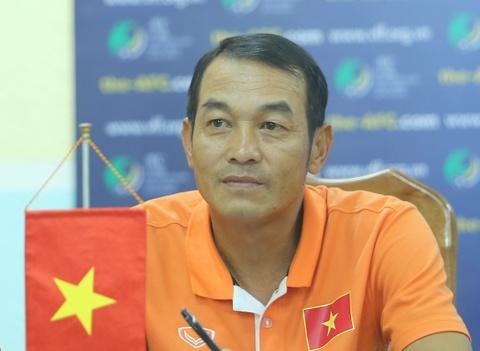 HLV truong trach U16 VN thieu quyet tam o tran thang Myanmar hinh anh