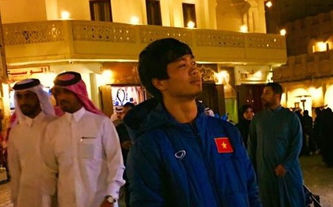U23 Viet Nam di dao pho Qatar truoc tran gap U23 Nhat Ban hinh anh