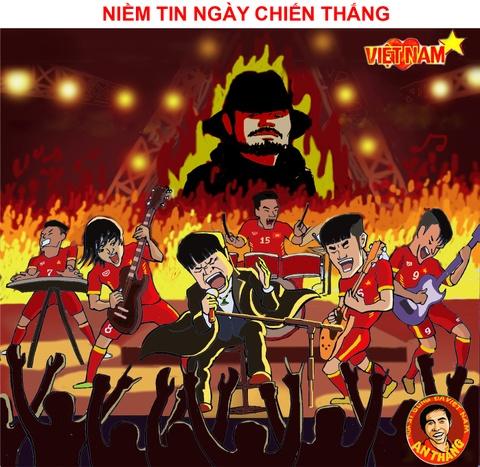 Hi hoa: Xuan Truong nham mat don co cho dong doi hinh anh 10