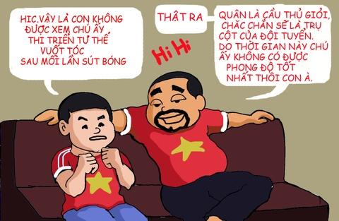 Hi hoa: Xuan Truong nham mat don co cho dong doi hinh anh 5