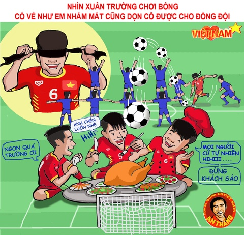Hi hoa: Xuan Truong nham mat don co cho dong doi hinh anh 8