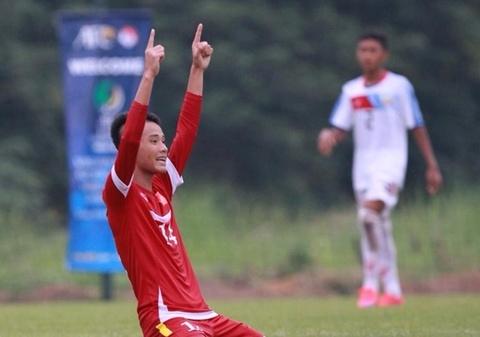 U16 Viet Nam rong duong vao chung ket gap Thai Lan hinh anh