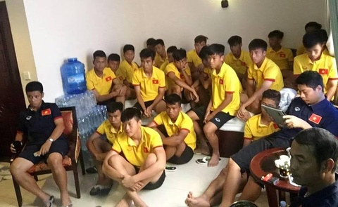 U16 Viet Nam mo bang tham do Campuchia hinh anh