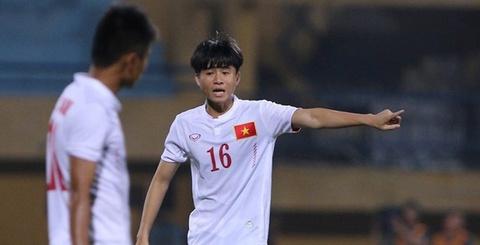 Phan Thanh Hau nang no trong lan dau ra san o U19 DNA hinh anh