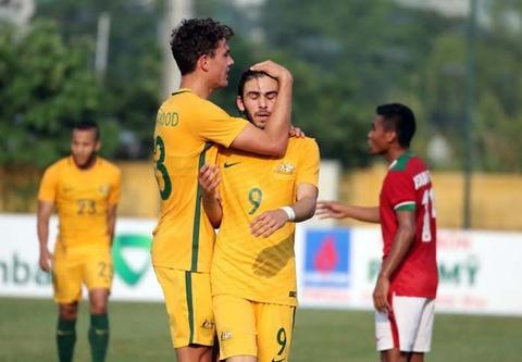 HLV U19 VN chi ra diem yeu cua Australia truoc tran ban ket hinh anh