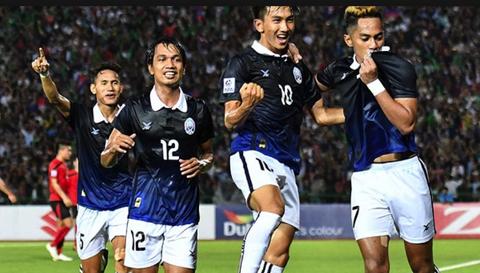 Video tong hop tran dau Campuchia 3-0 Brunei hinh anh