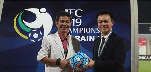 AFC tang VFF trai bong dua U19 Viet Nam du World Cup hinh anh
