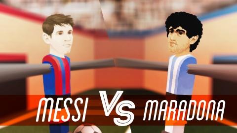 Messi va Maradona: Ai vi dai hon? hinh anh