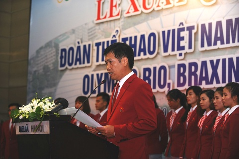 The thao Viet Nam quyet gianh huy chuong Olympic 2016 hinh anh