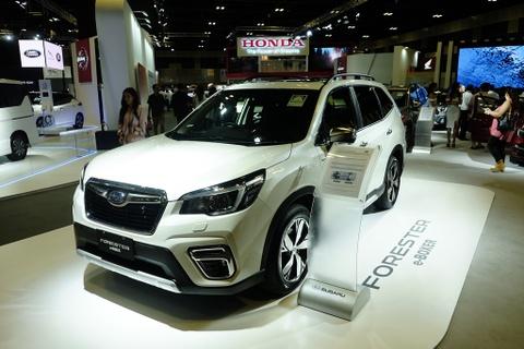 Subaru Forester phien ban hybrid e-Boxer ra mat Dong Nam A hinh anh
