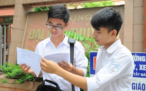 Ban hanh quy che thi THPT quoc gia 2017: Khong bo diem san hinh anh