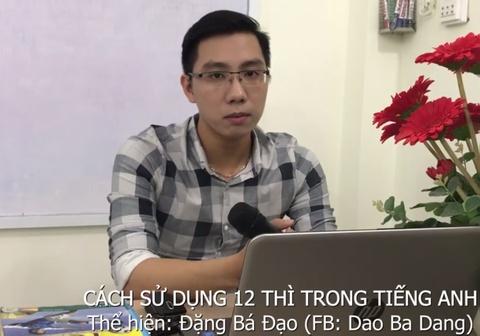 Thay giao Ba Dao day 12 thi tieng Anh qua ca khuc 'Duyen phan' hinh anh