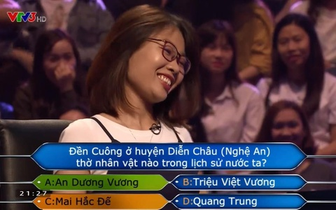 Thu Huong ra ve voi hai trieu dong hinh anh