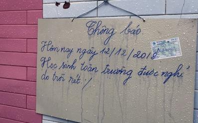 Gần 140.000 học sinh ở Lạng Sơn nghỉ học vì rét đậm