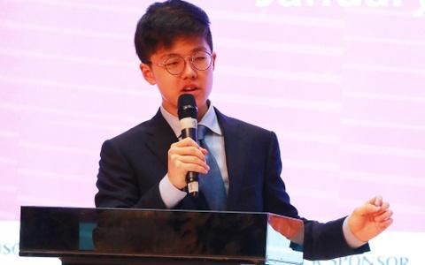 Hoc sinh tranh bien tieng Anh ve dong tien chung ASEAN hinh anh