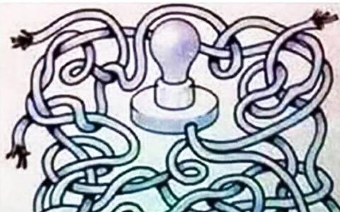 Bạn có giải được câu đố bật bóng đèn trong 15 giây?