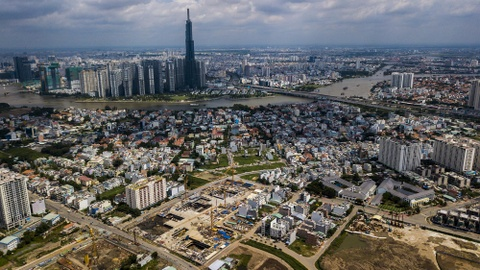 Cận cảnh dự án 13.000 căn hộ bị phạt vì xây trái phép tại quận 2