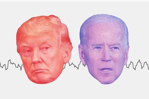 Doi lap chinh sach giua ong Trump va Biden hinh anh