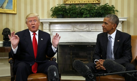 Obama gap Trump o Nha Trang: Chung toi da tro chuyen vui ve hinh anh 4