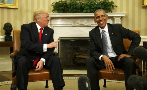 Obama gap Trump o Nha Trang: Chung toi da tro chuyen vui ve hinh anh 5