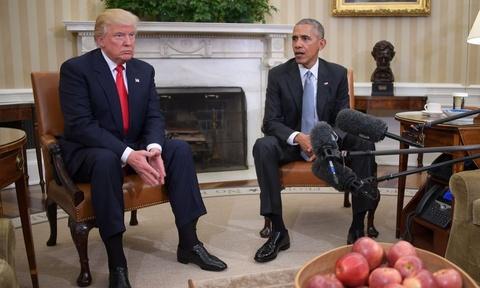 Obama gap Trump o Nha Trang: Chung toi da tro chuyen vui ve hinh anh 2