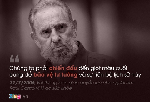 Fidel Castro: 'Trai tim toi lam bang thep' hinh anh 9