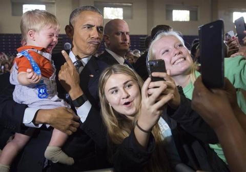 Nhung buc anh selfie noi tieng nhat nam 2016 hinh anh 1