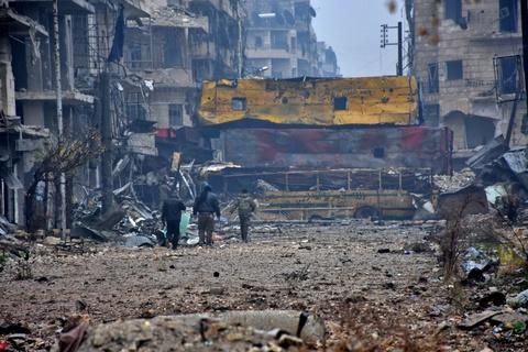 Aleppo hoang tan, London ngay lut vao top anh tuan hinh anh 2