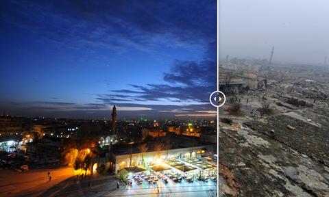 Aleppo mot thoi trang le truoc khi noi chien Syria no ra hinh anh