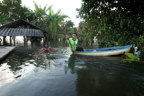 Thai Lan lut do mua trai mua, 25 nguoi thiet mang hinh anh 5