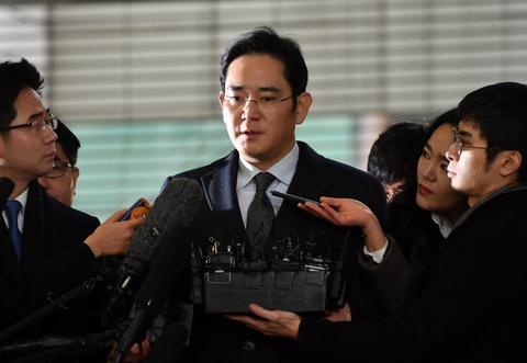 'Thai tu' Samsung bi bat trong be boi cua Tong thong Park hinh anh