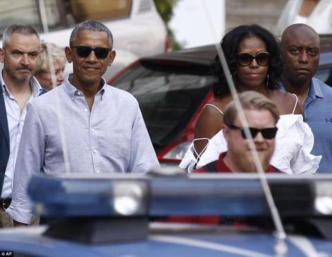 Ky nghi xa hoa cua nha Obama tai Italy hinh anh
