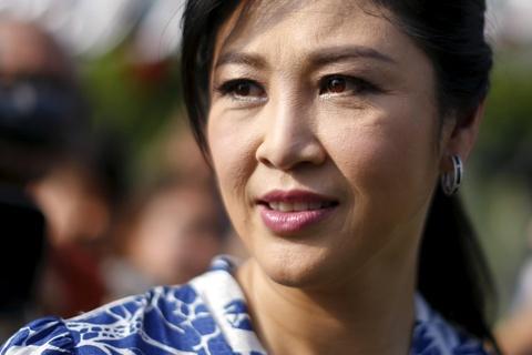 Ba Yingluck co the 'xin ti nan tai Anh' hinh anh