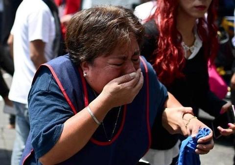 Dong dat Mexico: 216 nguoi chet, canh do nat o khap noi hinh anh