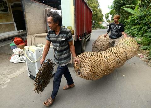 10.000 nguoi di tranh nui lua phun trao o thien duong du lich Bali hinh anh 1