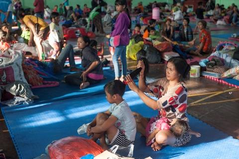 10.000 nguoi di tranh nui lua phun trao o thien duong du lich Bali hinh anh 10