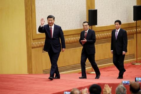 Trung Quoc ra mat Thuong vu Bo Chinh tri khoa 19 hinh anh
