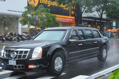 'Quai thu' cua Tong thong Trump lan banh tren duong pho Da Nang hinh anh 5