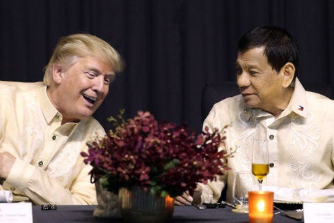 Trump, Trudeau va lanh dao ASEAN du yen tiec tai Philippines hinh anh