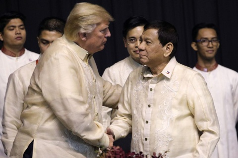 Trump, Trudeau va lanh dao ASEAN du yen tiec tai Philippines hinh anh 3