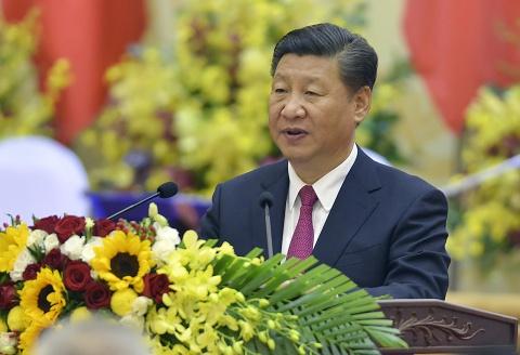 Chu tich Tap Can Binh vieng lang Chu tich Ho Chi Minh hinh anh