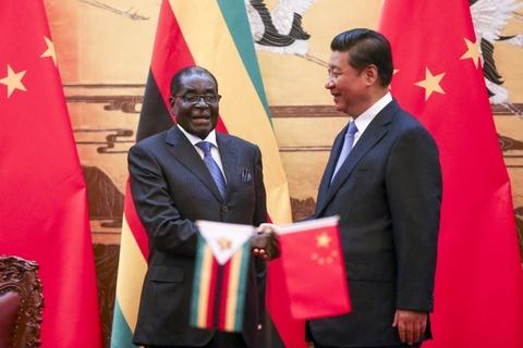 Trung Quoc ton trong quyet dinh cua nguoi ban tot Mugabe hinh anh