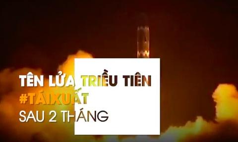 Hashtag tuan qua: TT Trump dau dau vi ten lua Trieu Tien tai xuat hinh anh