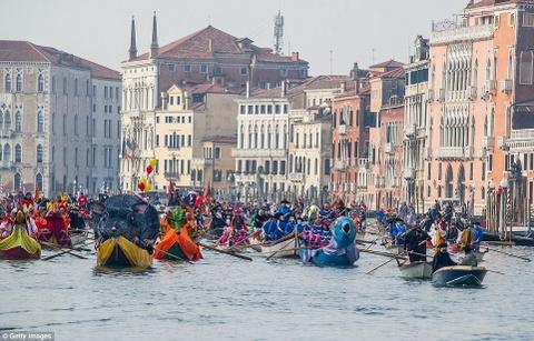 Le carnival phu phiem tru danh cua thanh pho Venice hinh anh 9