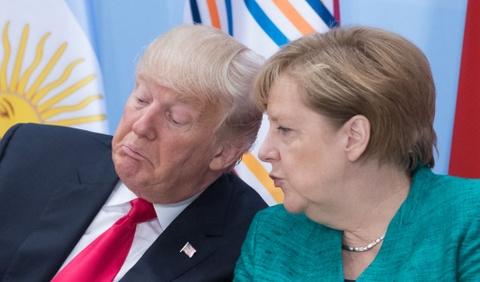 Merkel 'tai khoi dong' quan he voi Trump sau 5 thang khong noi chuyen hinh anh