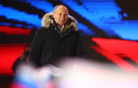 Thang ap dao, Putin lan thu 4 dac cu tong thong Nga hinh anh 1