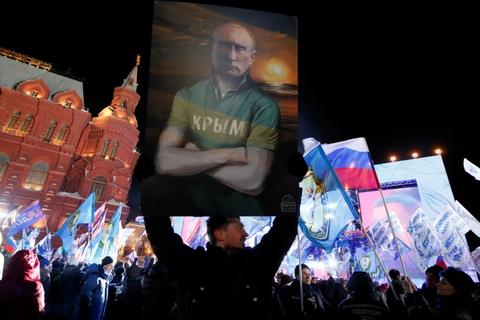 Thang ap dao, Putin lan thu 4 dac cu tong thong Nga hinh anh 3